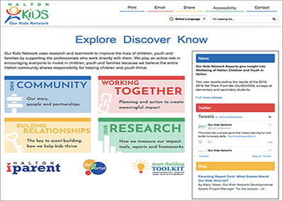 Our Kids Network Website