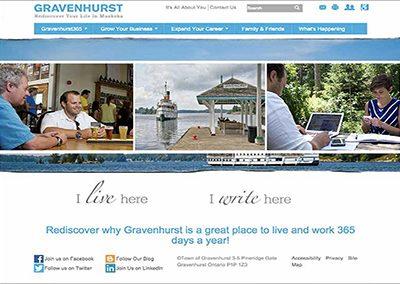 Gravenhurst365 Branding